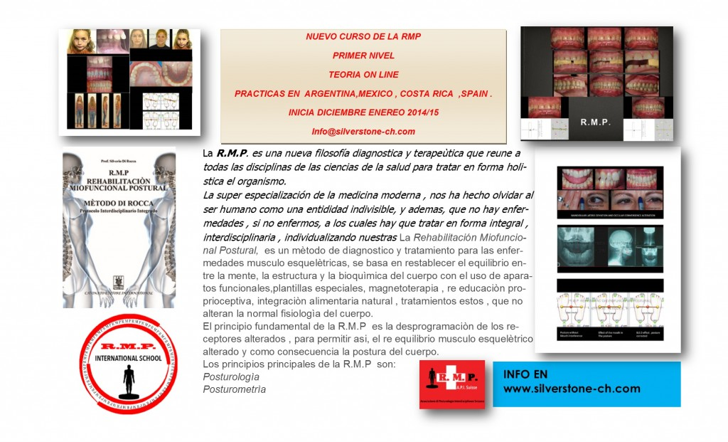 NUEVO CURSO RMP ON LINE SPAIN