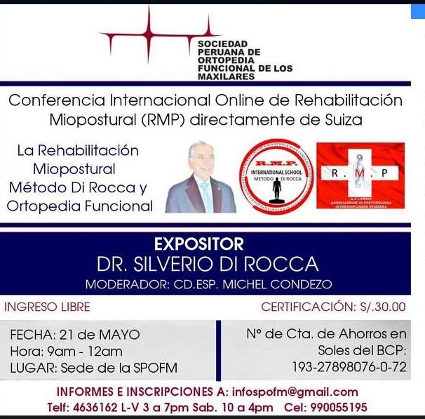 RMP PERU ORTOPEDIA