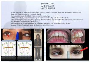 relacion entre ojo y boca engles